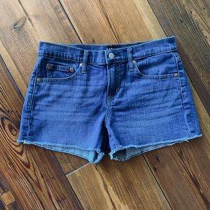 Gap 3'' Mid Rise Denim Shorts With Washwell™